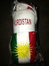KURDISTAN FLAG Mini Boxing Gloves Ornament *NEW*