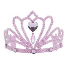 Mädchen Prinzessin Krone Tiara Glitzer Diamant Kostüm Verkleidung Zubehör