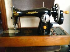 Vintage Union Sewing Machine in perfect condition with case
