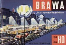catlogo BRAWA EHEIM 1964/65 Trolleybus Sessellift Lorenseilbahn HO N  D   aa