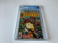 ETERNALS 9 CGC 9.4 WHITE PAGES THE KILLING MACHINE MARVEL COMICS 1977
