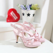 Summer Women's open-toed High heels belt buckle elegant party sandals shoes size