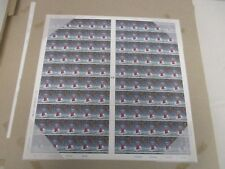 1998 UNCUT SHEET OF 100 63 PENCE GREAT BRITAIN STAMPS LIGHTHOUSE MINT CONDITION