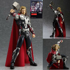 THE AVENGERS/ FIGURA THE THOR CON ACCESSORI 15 CM- FIGMA #216 IN BOX 6""