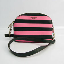 Kate Spade Silvia Stripe Border Small Dome PWRU7366 Women's Leather,Lea BF526593