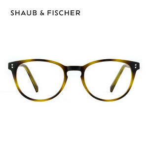 Shaub & Fischer Round Tortoise Reading Glasses +0.50 to +6.00