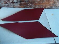 Red TWO DOOR COUPE UPPER INTERIOR SAIL PANEL SET LEFT RIGHT REAR Cranberry GM