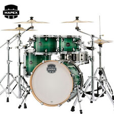 "Mapex Armory 5pc Fusion Drum Set Shell Pack (20"" Bass) AR504SCFG Emeral Burst"