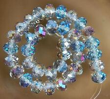 70pcs Multicolor Swarovski Crystal Loose Bead 5x8mm