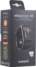 *BRAND NEW* Garmin VivoActive HR Heart Rate Monitor Black Regular Size Watch