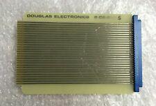 Douglas Electronics Vintage Plug Board 6-DE-STD C Card Edge Connector Sullins