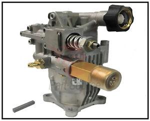 "Horizontal Pressure Washer Pump 2400 psi Fits Most 3/4"" Shaft Aluminum Head"