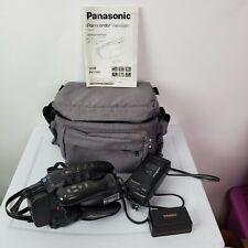 Panasonic PV-L559 150X Digital Palmsight Palmcorder VHS, Battery, REI Bag Manual