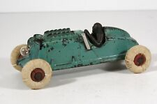 1920s CAST IRON PISTON RACER / RACE CAR TOY WITH ELECTRIC HEADLIGHT By HUBLEY
