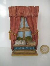 More details for very rare original colour box cat peter fagan home sweet home old window 1986-7