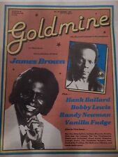 NOVEMBER 1981 GOLDMINE THE RECORD COLLECTOR'S MAGAZINE JAMES BROWN