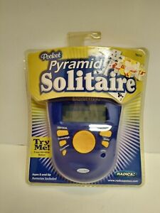 Radica Pocket Pyramid Solitaire 2005 Hand held Electronic Game 76006 Sealed