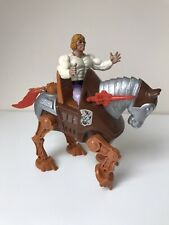 Vintage He-Man Prince Adam Stridor Masters Of The Universe Lot Mattel 80s MOTU
