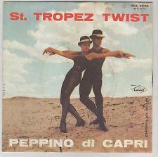 """PEPPINO DI CAPRI ST. TROPEZ TWIST/DANIELA  7"""" 45 GIRI"""