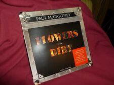 """Paul McCartney Flowers In The Dirt World Tour Pack CD / 3"""" / Posters /Postcards"""