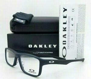 NEW Oakley Plank 2.0 RX Frame Satin Poseidon Blue / Black OX8081-0953 AUTHENTIC