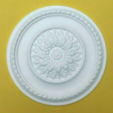 Ceiling Rose Polystyrene Easy Fit Lightweight 'MEADOWSWEET' Quality Rose 42CM