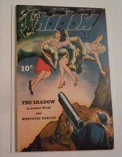SHADOW COMICS  Volume 4  #4  VF Condition  - Shadow vs. Nazi story!