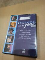 Legends - Live at Montreux 1997 (DVD, 2005) ERIC CLAPTON DAVID SANBORN JAZZ ROCK