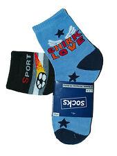 Children's Boy's Socks 2 Pair Stockings Children's Socks Various Motifs