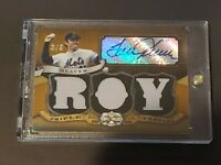 2009 Topps Triple Threads Patch Auto Tom Seaver Certified Autograph SSP 3/9