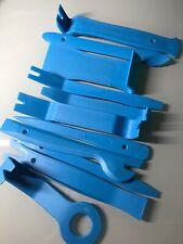 Set of 11 Door Panel Car Trim Removal Tool Kit Clip Plastic Fastener Remover