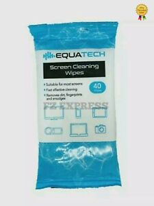 Screen Cleaning 40×Wipes  | Mobile Phone, Tablet, TV, Laptop, Camera Lens Wipes