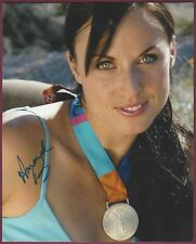 Amanda Beard, Olympic Swimmer, Signed Photo, COA UACC RD 036