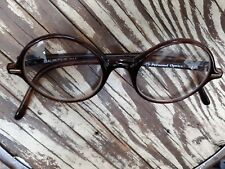 Personal Optics Eyeglasses Mauritius 014 Matte Brown Large Round 3.25 Readers