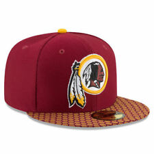 Washington Redskins Cap NFL FOOTBALL SIDELINE CAPPELLO NEW ERA 59 FIFTY size 7 3/4