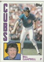 FREE SHIPPING-MINT-1984 Topps #787 Bill Campbell Cubs PLUS BONUS CARDS