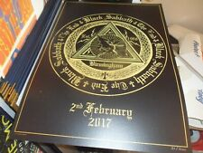 BLACK SABBATH 2017 NUMBERED TOUR LITHOGRAPH 2ND FEB