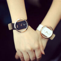 Elegant Wome's Girl Classic Casual Quartz Watch Leather Strap Wrist Watches Gift