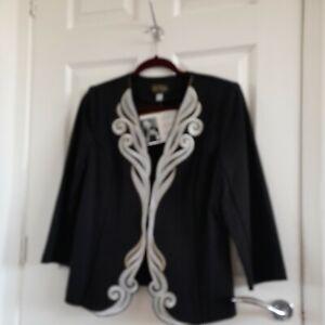 New Bob Mackie Jacket Size Medium