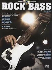 Rock Bass 2nd Edition TAB Music Book/CD Learn Essential Rock Groove Styles
