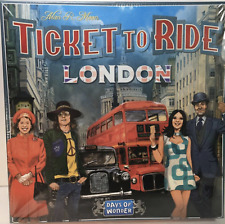 Ticket To Ride London Board Game By Days Of Wonder 2 to 4 Players Fun Unisex