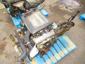JDM ISUZU TROOPER 4JG2-T 3.1L TURBO DIESEL ENGINE AWD MT 4X4 TRANSMISSION 4JG2