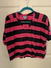 H.I.P. Happening in the Present Women's Striped T-Shirt