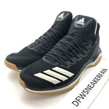 Adidas Icon 4 Trainer Performance Men's 10 Baseball Shoes Black Gum CG5270 New