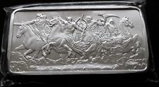 FOUR HORSEMEN OF THE APOCALYPSE 10 OZ SILVER BAR .999 FINE