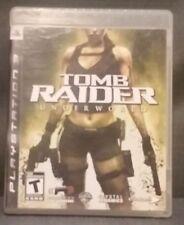 Tomb Raider: Underworld (Sony PlayStation 3, 2008) PS3 Video Game