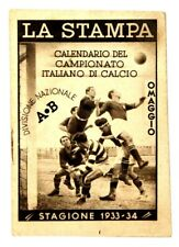 Kalender Geschenk La Druck Championship Von Fußball 1933/34, CM 8,3 x 12