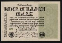 1923 Germany 1 million mark banknote uncirculated P-102c