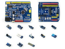 UNO PLUS Pack MEGA328P Development Board UNO R3 Compatibe + Sensor Modules