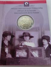 Coin / Munt 2010 Belgie 2 Euro 100 Jaar Internationale Vrouwendag